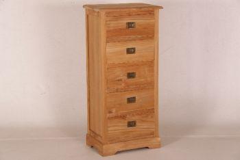 in6369 Ladenschrank 5 Schubladen, 121x055x037 cm
