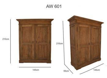 Kleiderschrank AW-601 Renkum