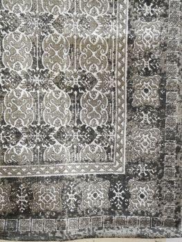 Teppich gemustert