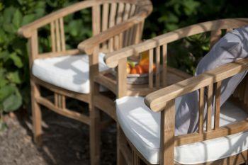 Doppelstuhl Betawi Love Seat aus Teak