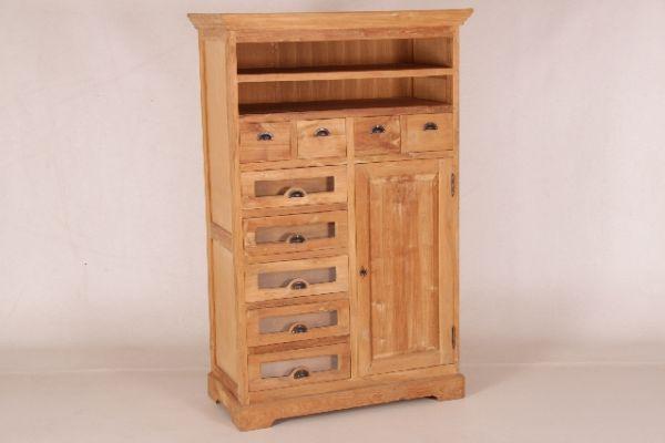 in6174 grutterkast brotschrank teak 160x102x049 cm massivholz m bel von. Black Bedroom Furniture Sets. Home Design Ideas