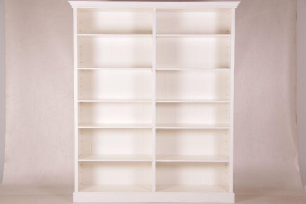 kas989 gro er b cherschrank wei 238x201x045 cm. Black Bedroom Furniture Sets. Home Design Ideas