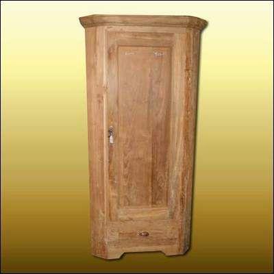ts 36 eckschrank teakholz 190 x 85 x 50 hxbxd massivholz m bel von. Black Bedroom Furniture Sets. Home Design Ideas