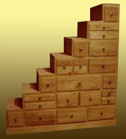 ts 382 schubladentreppe 170 x 155 x 50 hxbxd. Black Bedroom Furniture Sets. Home Design Ideas