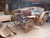 Antike restaurierte Kutsche
