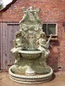 A5450 Brunnen aus massiv Bronze