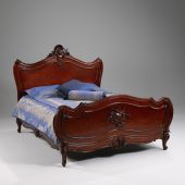 Louis XV Bett Queen Size  184.00 * 222.00 * 154.00 cm