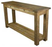 Wandtisch Dinkleh mit Unterplatte, in versch. Maßen