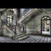 Glasbild DiBond LaCour Trap 80*120 cm