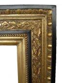 Spiegel BA P049 schwarz-gold